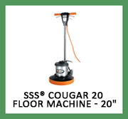 SSS® Cougar 20 Floor Machine - 20 in.